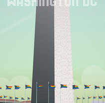 Postcards from Washington DC. A Illustration project by carlos carmonamedina         - 16.03.2017