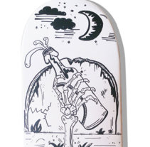 Skateboard •  The last drink #SkateArt. A Design, Illustration, and Art Direction project by Matdisseny (marc argelich trigo) - 11-09-2015