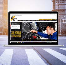 Kissimmee Collision Center. A UI / UX, Graphic Design, and Web Design project by Ana Callegari         - 24.03.2015