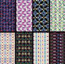 Mi Proyecto del curso: Diseño de estampados textiles - SELLOS. Un proyecto de Diseño, Ilustración, Diseño de vestuario, Diseño editorial, Moda y Diseño gráfico de Claudia  Silva - 26-03-2017