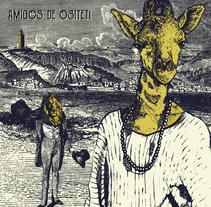 Cartel Amigos de Ositeti. Un proyecto de Ilustración de Natalia Seco Domínguez         - 21.03.2017