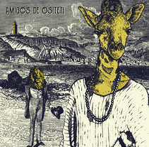 Cartel Amigos de Ositeti. A Illustration project by Natalia Seco Domínguez         - 21.03.2017