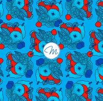 Tutti Frutti Pattern Collection. Un proyecto de Diseño de Marta Girabal Montaner         - 01.04.2017