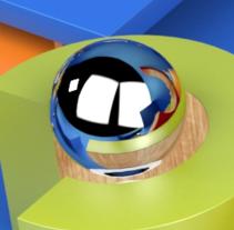 Animación de cortinillas de televisión con Motion Graphics. A Design, Motion Graphics, 3D, Animation, and Graphic Design project by David López - 06-04-2017