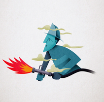 fireman fail!. A Design, Illustration, Art Direction, and Fine Art project by Javi Travi - 09-04-2017