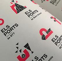Els Ports. A Design, Br, ing, Identit, Graphic Design, and Web Design project by Joan Rojeski          - 06.04.2017