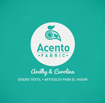 Branding - Acento Fabric. A Br, ing&Identit project by Thomas Maury         - 13.04.2017