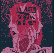 Screams On Sunday + Involutio. A Illustration, and Graphic Design project by battduck         - 08.04.2017