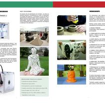 Catálogo de servicios para Basque Fab Lab. Um projeto de Design editorial e Design gráfico de Ana Margarita Martinez Roa         - 10.04.2014