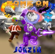 Jokzim-Come On comisión. Um projeto de Ilustração de Juan Ceron Alvarado         - 25.04.2017