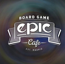 Epic Board Game Cafe - Presentación. A Motion Graphics, and Video project by Daniel Rodríguez Lucas         - 01.02.2017