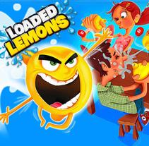 LOADED LEMONS. Creación de personajes. Un proyecto de Ilustración, Diseño de juegos y Packaging de Juanma García Escobar - 06-05-2017