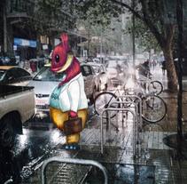 Un día mas.... Um projeto de Ilustração, Fotografia e Arte urbana de Yumir Canelones         - 12.05.2017