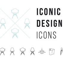 Iconic design Icons. A Design, Graphic Design, and Signage design project by Helena Llop - 13-05-2017