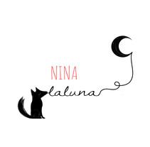 proyecto para blog personal: www.ninalaluna.com. Un proyecto de Diseño Web de Claudia C.G.         - 18.03.2017