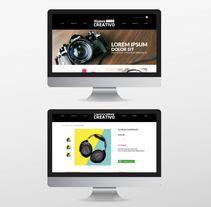 Diseño Gráfico. Web. Print.. A Design, Graphic Design, and Web Design project by Diana Panza Vargas         - 23.05.2017