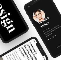 Roca Gallery, Responsive Website. Un proyecto de Diseño, UI / UX, Diseño interactivo, Diseño Web y Desarrollo Web de Redbility         - 23.05.2017