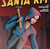 Santa RM Comic Fanart. A Illustration, and Comic project by Mai Zaragoza         - 23.05.2017