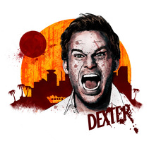 Mi Proyecto del curso: Retrato ilustrado con Photoshop | Dexter. A Illustration project by Nicolás Romero         - 06.06.2017