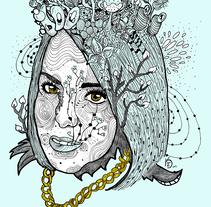 Ama-Lia  De mi Corazón . A Illustration, Character Design, Fine Art, and Graphic Design project by Kenneth Ghibran  Ortega Zepeda  - 02-06-2016