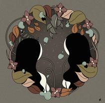 """""""Black Hole"""". Un proyecto de Diseño, Ilustración, Diseño gráfico e Ilustración vectorial de Hugo Giner  - 11-06-2017"""