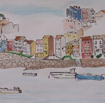 Mi Proyecto del curso: Dibujo para principiantes nivel -1. A Illustration project by Victoria Sánchez Arana - 13-06-2017
