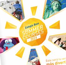 Colegio Base Summer Courses. A Advertising, and Graphic Design project by Rubén Salazar Almansa         - 11.06.2017