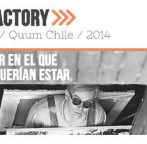 The Factory. Un proyecto de Diseño, Dirección de arte, Eventos, Diseño gráfico y Producción de Kenny Cárdenas Guevara - 10-06-2014