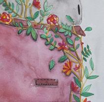 criatura salvaje. Un proyecto de Ilustración de Cecilia Macedo - 21-06-2017