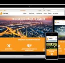 Amec - Organización de empresas. Un proyecto de Desarrollo Web de David thehobocode - 01-09-2014