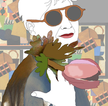 las abuelas también poseen belleza. Un proyecto de Fotografía, Diseño gráfico y Collage de Darina Albrecht         - 04.07.2017