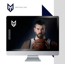 Marc Gasol. A UI / UX, Creative Consulting, Graphic Design, Web Design, and Web Development project by 6tems Comunicació Interactiva         - 05.07.2017