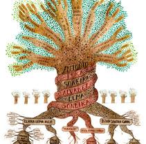Árbol genealógico. Un proyecto de Ilustración de Elena Morales García         - 12.07.2017