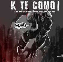 Portada Portfolio  Versión: K T COMO. A Design, Illustration, Art Direction, Fine Art, Game Design, Comic, Production, and Character animation project by Carlos Mercé Vila         - 15.07.2017