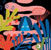 La mujer del pantano. Un proyecto de Ilustración de Laura Fernández Arquisola         - 18.07.2017