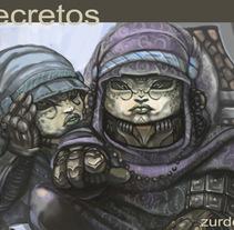 Tableta Digital...un recorrido por mi trabajo.. Um projeto de Ilustração e História em quadrinhos de Òscar Zurdet         - 18.07.2017