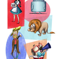 Mago de Oz. Un proyecto de Ilustración y Animación de Agustina Mattar         - 21.07.2017