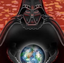 darth vader Fan art. A Illustration project by Julio Solis         - 23.07.2017