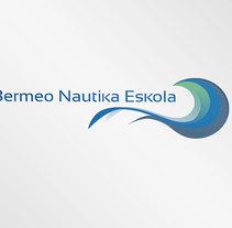 Rediseño de logotipo - Bermeo Nautika Eskola. A Graphic Design, and Web Design project by Lorea Espada         - 20.07.2016