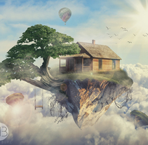 A perfect House. A Photograph, Graphic Design, and Digital retouching project by Marc Bupe - 25-07-2017