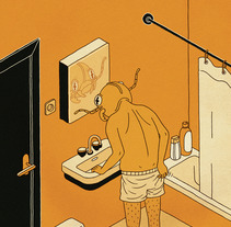 Die Verwandlung. A Illustration project by Álvaro Bernis - 25-07-2017