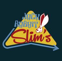 Mi Proyecto del curso: Tipografía y Branding: Diseño de un logotipo icónico Jack Rabbit Slim's. A Graphic Design project by Pietrangelo Manzo         - 07.10.2017