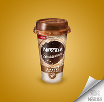 Nescafe Shakissimo / Nescafe Golden. A Design, Graphic Design, and Product Design project by Yermain  Garcia         - 16.08.2017