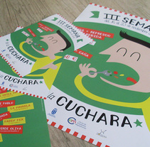 3ª Semana de la Cuchara - Majadahonda. A Illustration, and Graphic Design project by studio sananikone  - 04-11-2014