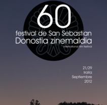 GRÁFICA | donostia zinemaldia. Um projeto de Publicidade, Direção de arte e Design gráfico de quetonodeverde         - 17.02.2012