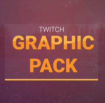 Twitch Graphic Pack. Um projeto de Design de jogos, Design gráfico, Arquitetura da informação, Design interativo e Web design de Alejandro Gonzalez Barrios         - 24.08.2017