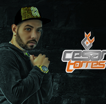 Presskit Dj Cesar Torres. A Design, Graphic Design, and Street Art project by Yermain  Garcia         - 28.08.2017