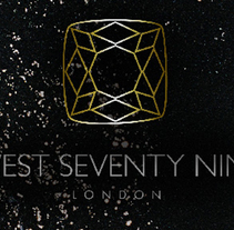 West Seventy Nine Logo &  Brand Identity. Un proyecto de Diseño gráfico de Trayana Kolev         - 29.08.2017