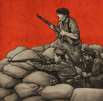 Cartel VI Jornadas de Recreación Histórica. A Illustration, and Graphic Design project by Rubén Megido         - 27.08.2017