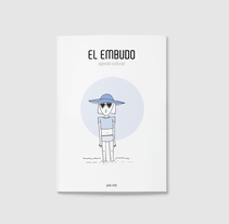 Ilustraciones  para Agenda Cultural EL EMBUDO . Um projeto de Ilustração de Anita Acosta         - 31.08.2014